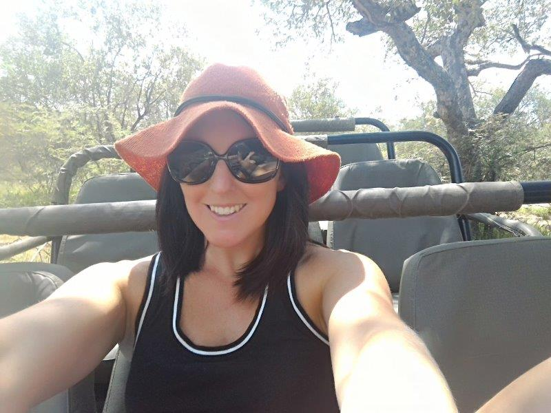 Cara Pring on safari