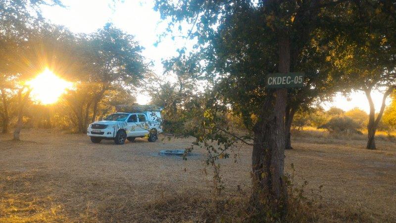 CGKR campsite