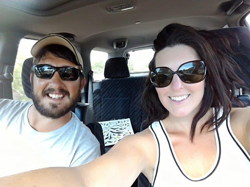 Selfie of Cara and Van